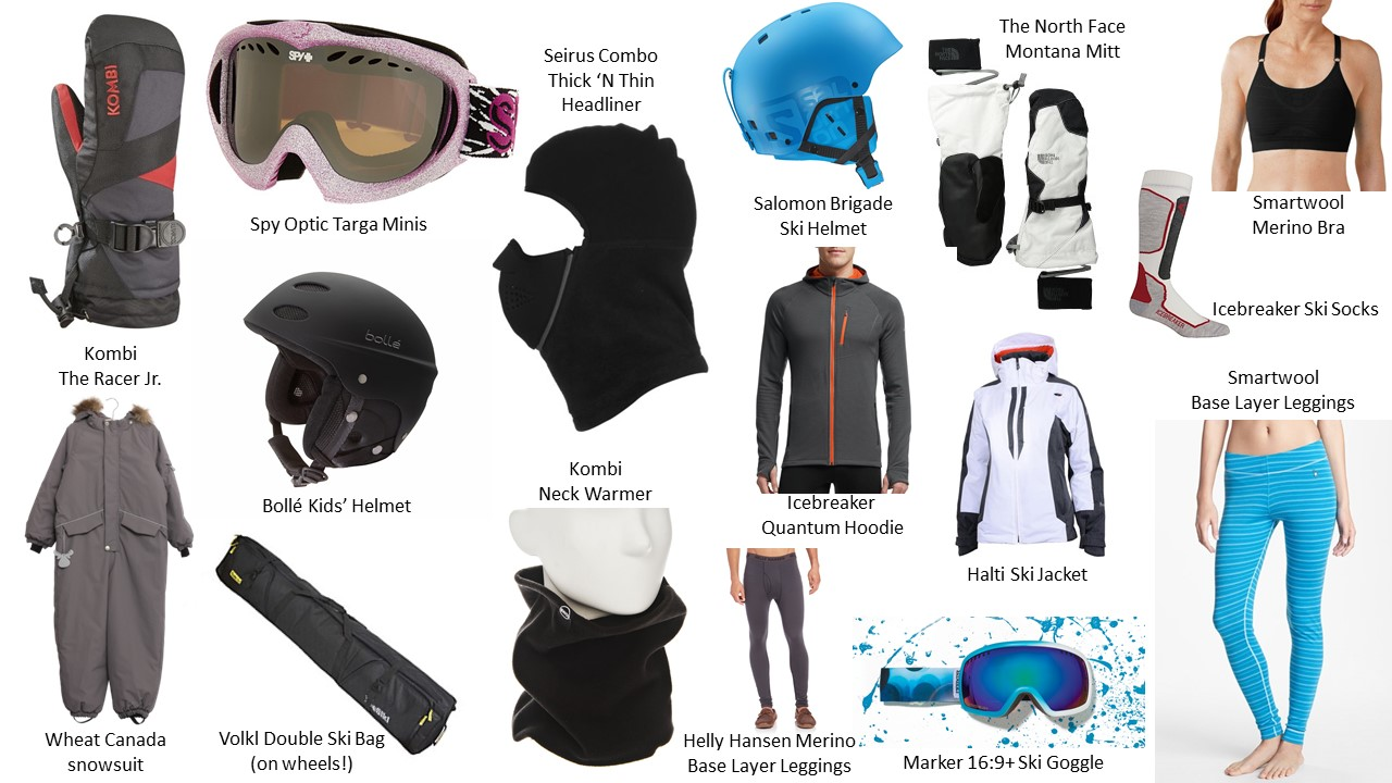 cute kids ski and snow gear for the 2014 - 2015 season
